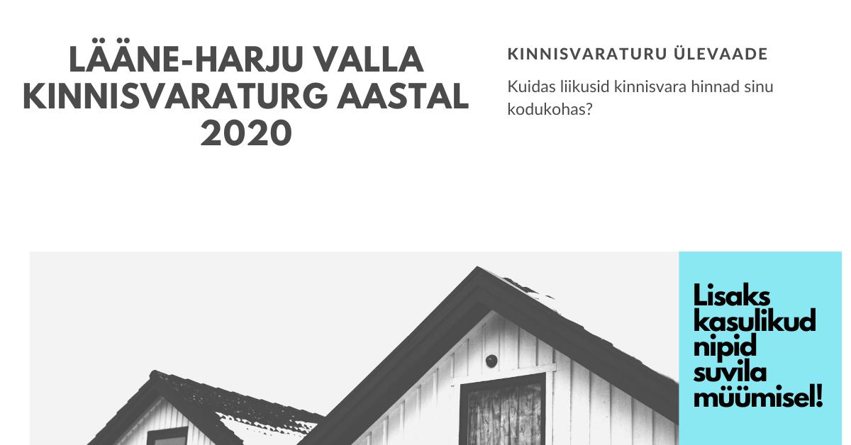 Kinnisvaratehingud Lääne-Harju vallas 2020. aastal
